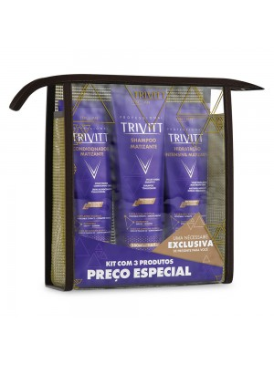 Kit Home Care Trivitt com Hidratação Intensiva MATIZANTE