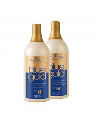Salvatore Escova Progressiva Blue Gold (2 x 500 ml)
